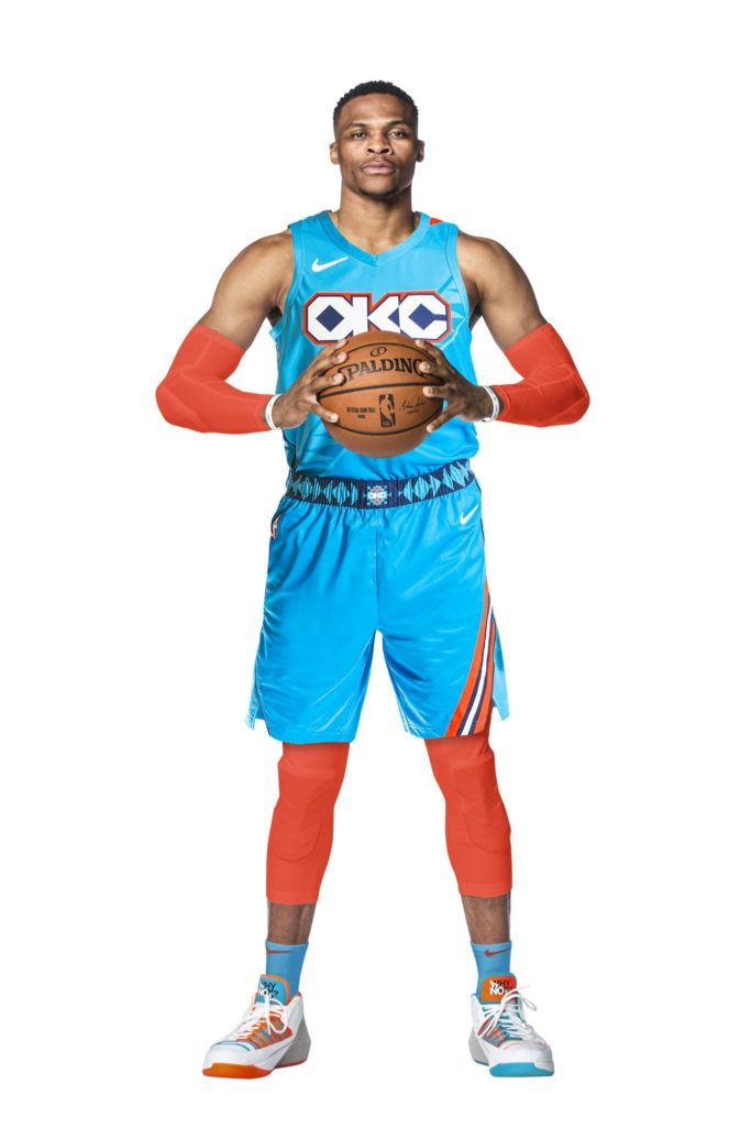 new concept 68c54 c6e73 Oklahoma City Thunder's New Indigenous-Inspired Uniforms ...